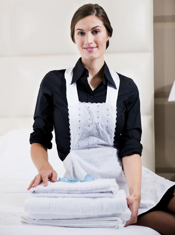 фото с домработницей