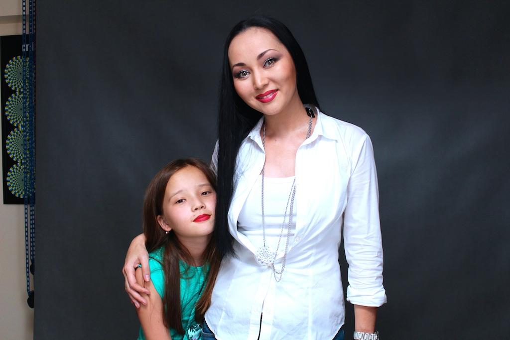 дочери баян есентаевой фото
