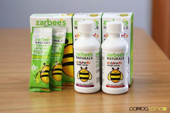 Натуральное средство от кашля - сироп от кашля ZARBEE'S