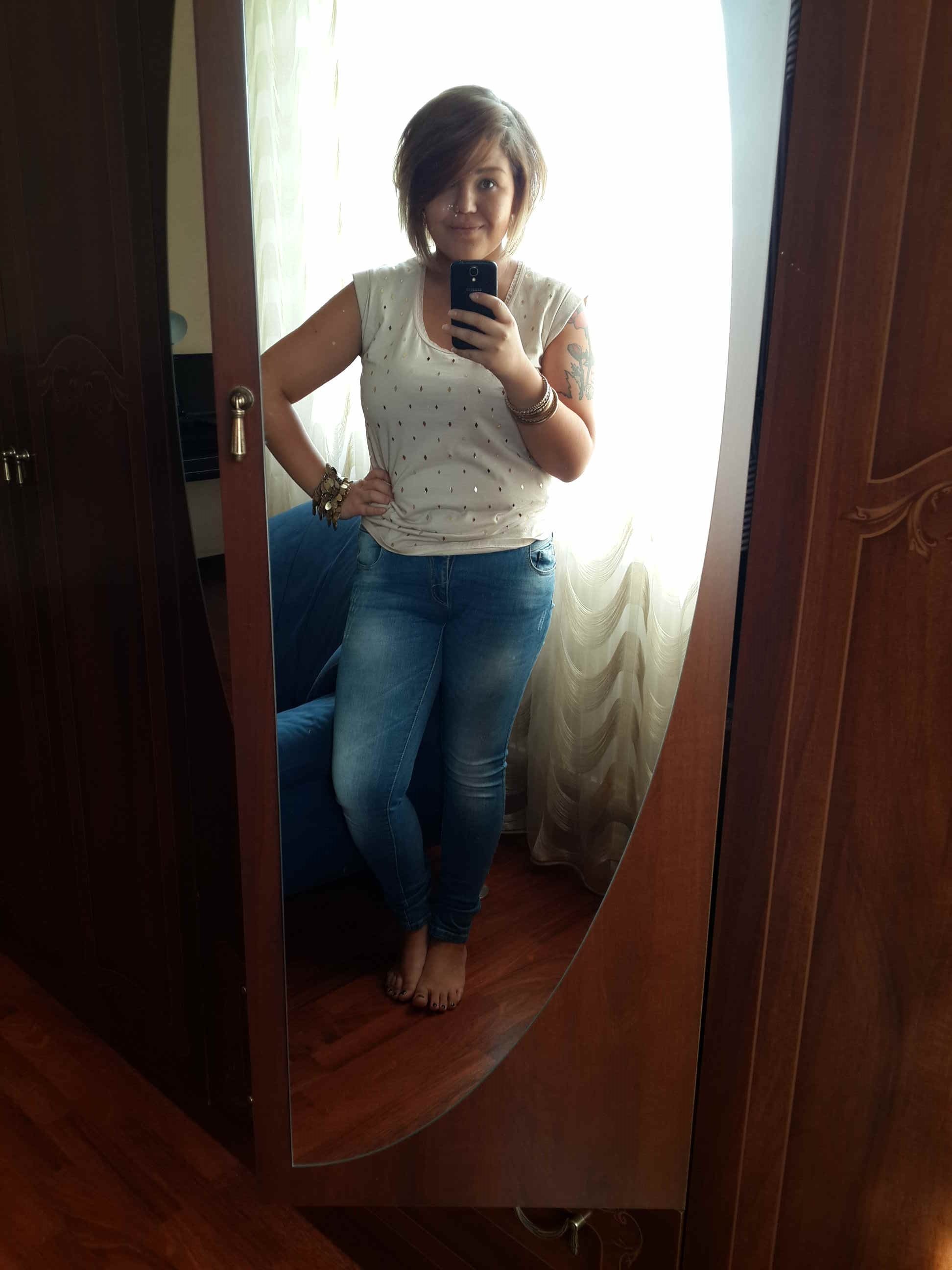 Плоский живот после родов: История весом в 50 кг