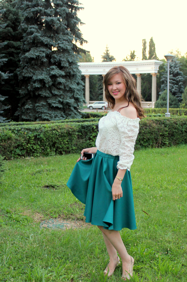 Быстрое стильное платье от Ольги Никишичевой