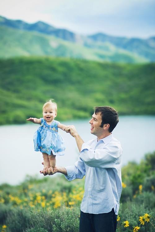 дочка и папа в душе