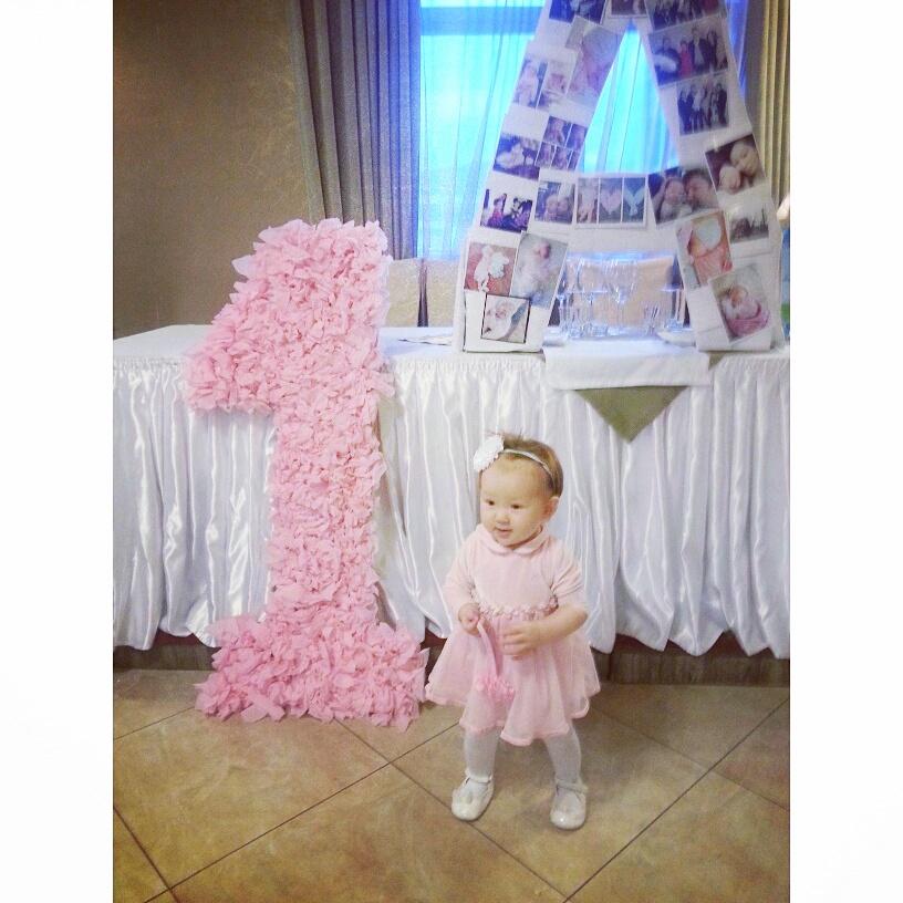Открытки с днем рождения 1 годик девочке Новые открытки