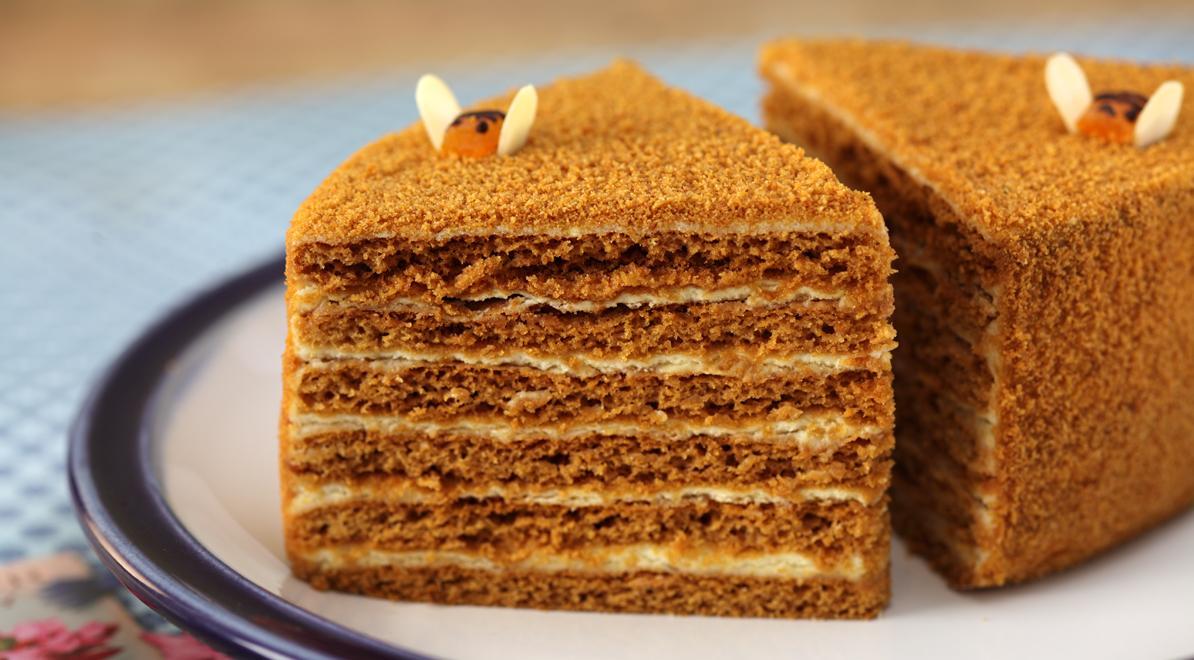 Тесто на медовый торт рецепт