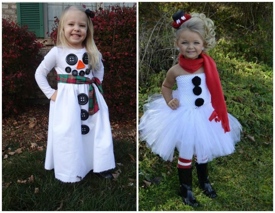 Новогодний костюм для девочек своими руками фото 999