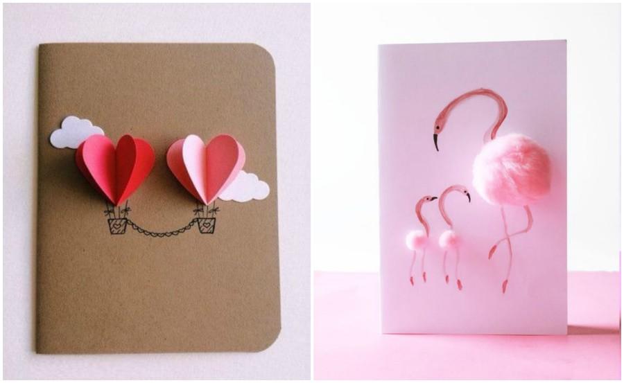 Как сделать красивые открытки к 8 марта своими руками