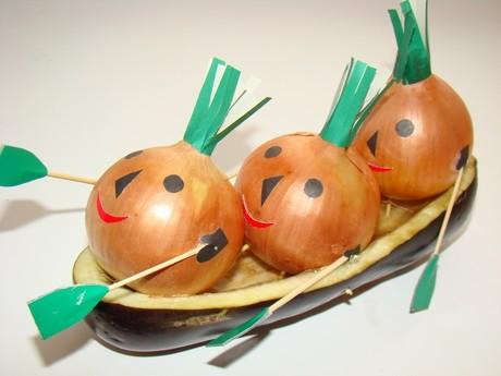 Поделки в детсад из овощей своими руками