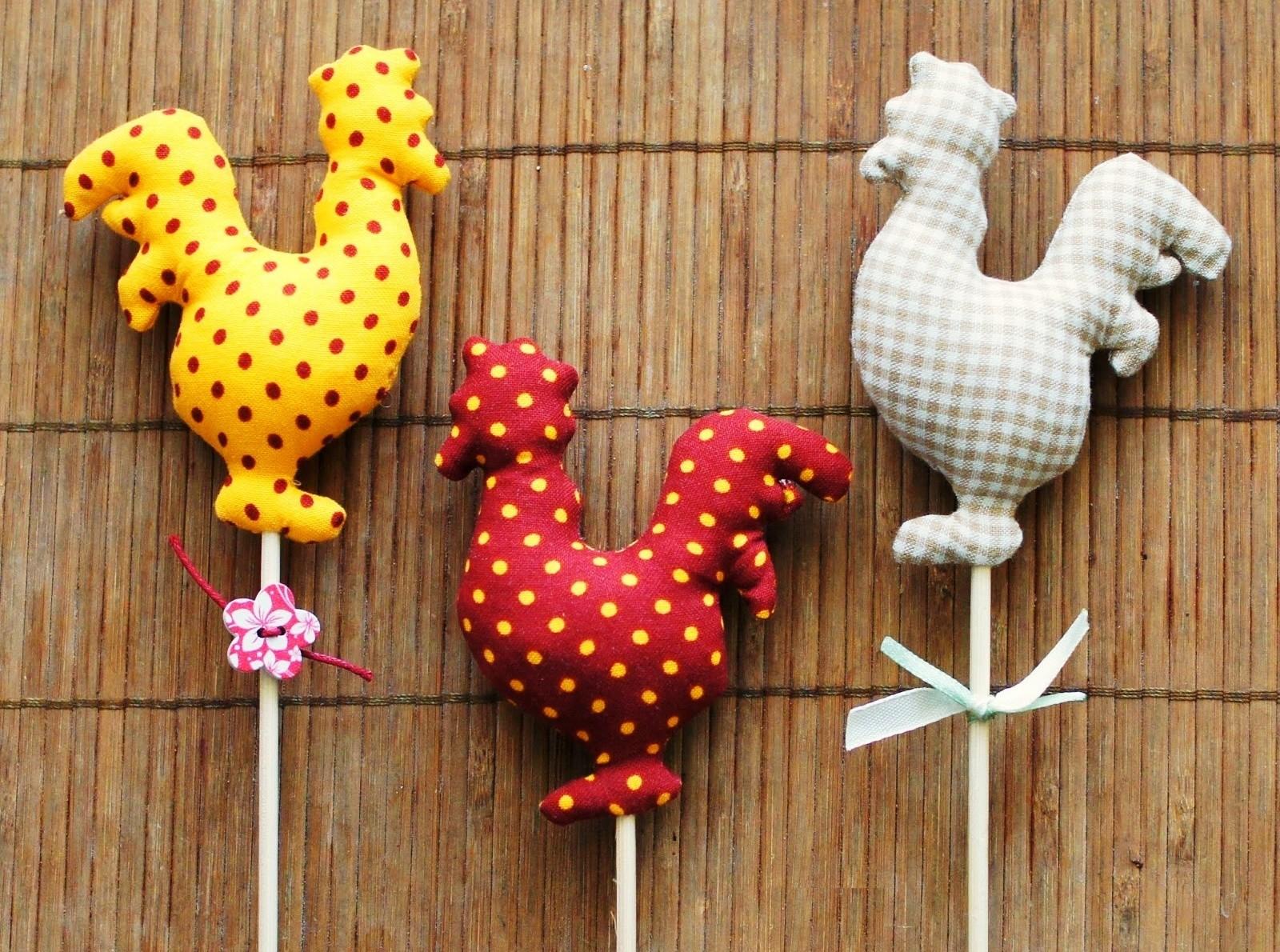 Выкройки мягких игрушек петушков (большая подборка) Укрась свой мир!