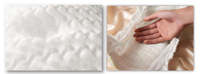 Подгузники Pampers Premuim Care  (Памперс) из мягких материалов, дышащие подгузники