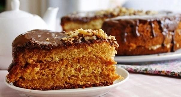Медовые бисквитные торты фото