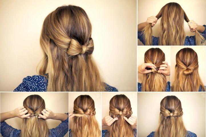 Красивые и простые прически на каждый день на средние волосы