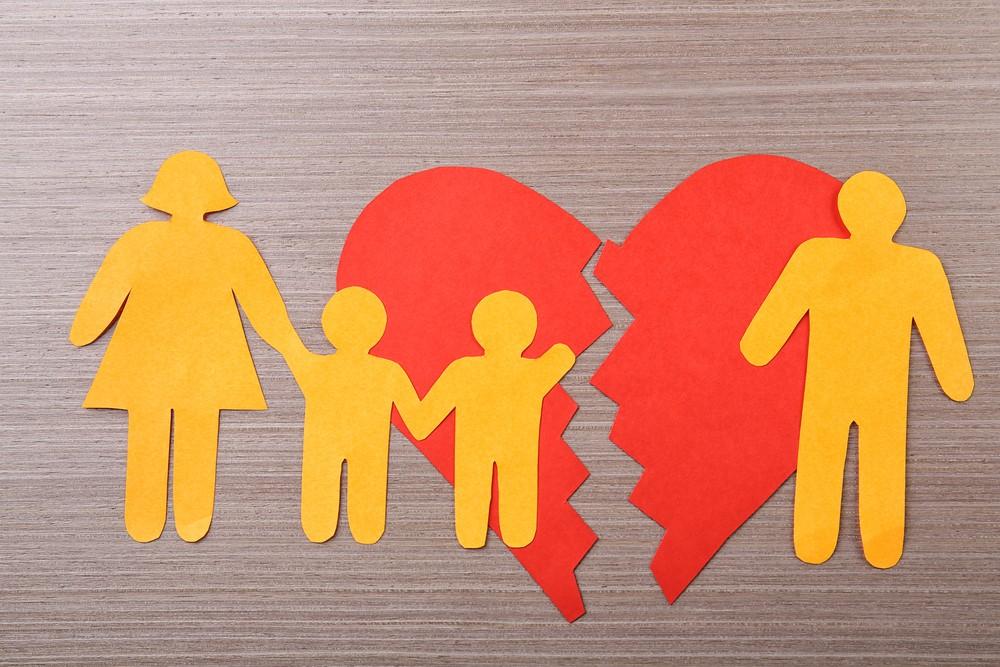 history of broken family
