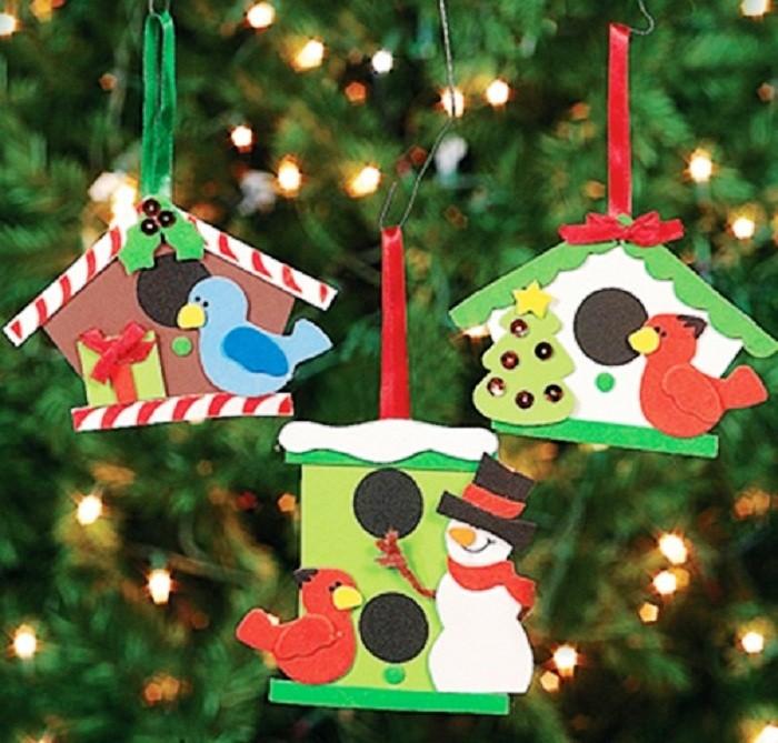 Как сделать новогоднюю елку из бумаги фото 815