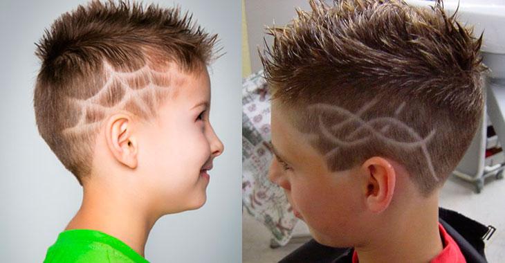 Модные детские причёски для мальчиков