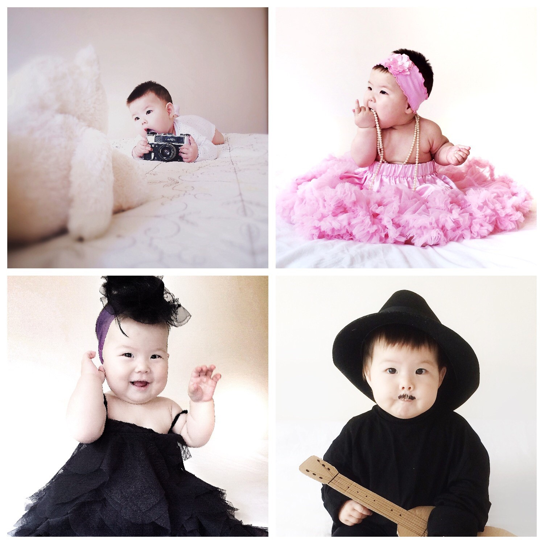 Фото на 9 месяцев девочке идеи