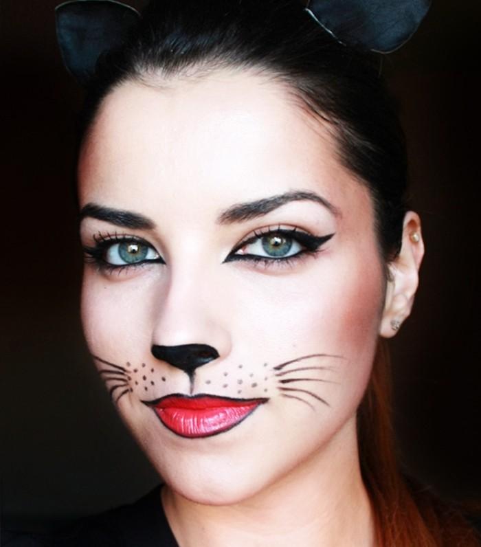 Cat makeup halloween