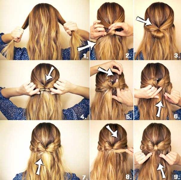 Как сделать причёску дома