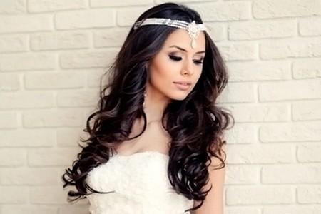 Сделать на свадьбу длинные волосы как можно