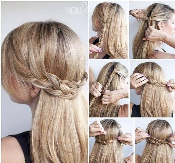 Косички на длинные волосы своими руками в домашних условиях