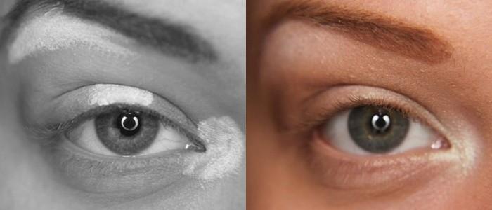 Макияж глаз эффект больших глаз
