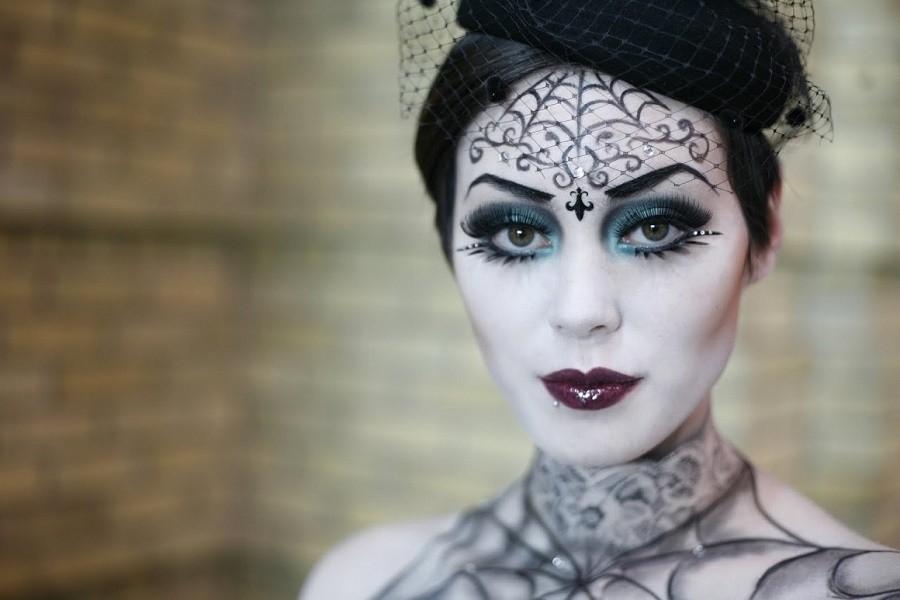 Макияж на Хэллоуин для девушек, фото