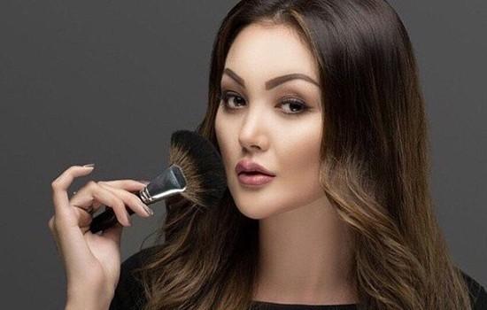 Казахские девушки длинными волосами