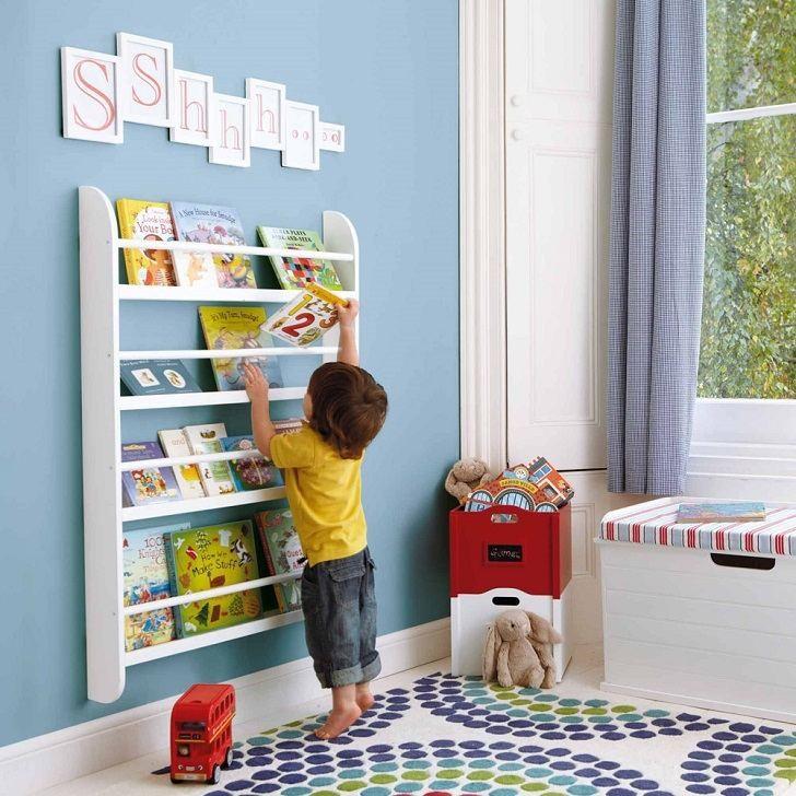 Полка для книг своими руками в детскую